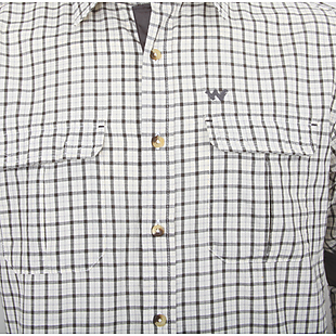 Wildcraft Men Full Sleeve Check Shirt 02 - Off White Check