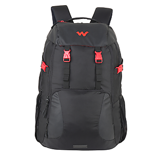 Wildcraft Element Laptop Backpack With Tamper Proof Compartment - Black 2
