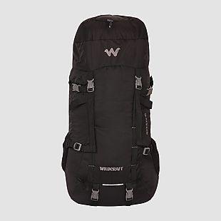 Wildcraft Rucksack For Trekking Rock & Ice Plus - Black
