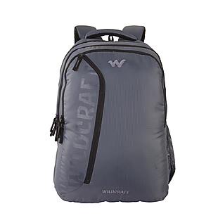 907d21dd61 Wildcraft Corpro Laptop Backpack With Back Ventilation And Rain Cover - Grey