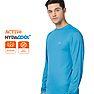 Wildcraft Men Hypacool Full Sleeve Poly T Shirt - Cerulean Blue